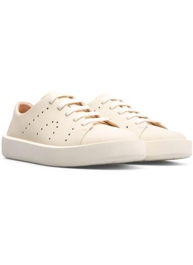Camper Hakiki Deri Ayakkabı Bej